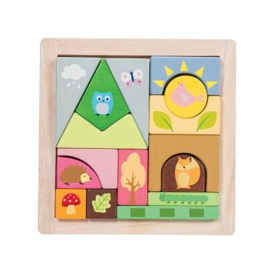 Le toy van- Woodland Puzzle
