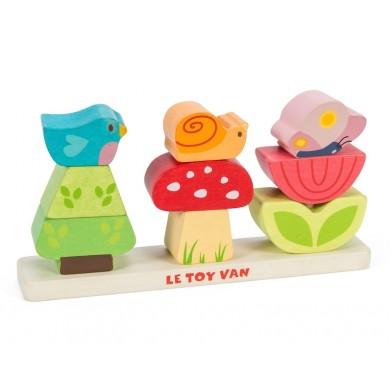 My stacking garden Le Toy Van - Bees and Nectaries