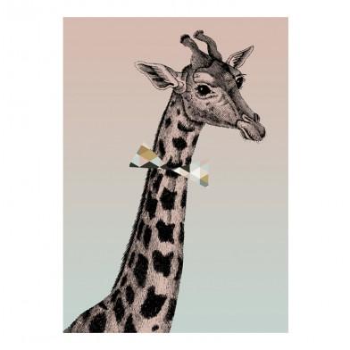 Bees & Nectaries - Poster Giraffe