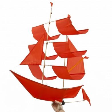 Flugdrachen Segelschiff