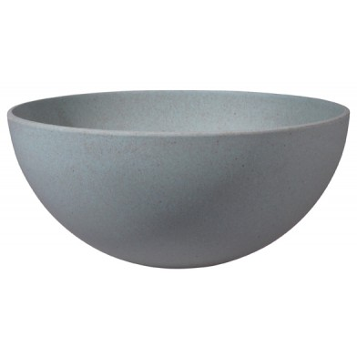 Zuperzozial Bambusgeschirr - Salatschüssel / Salatschale super bowl powder blue / BEES & NECTARIES