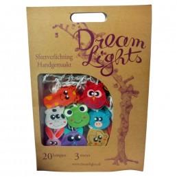 DreamLights-Tiergesichter Lichterkette