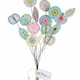 Papierblüten - Blom