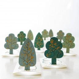 Papierkarten - Forest