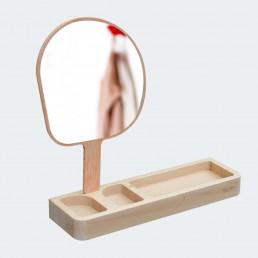 Spiegel mit Ablage - Kagami