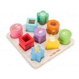 Le toy van- Petilou Sensory Steckspiel