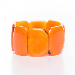 TAGUA-ARMREIF - ORANGE