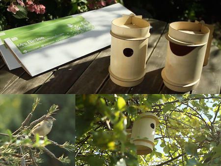 Birdee Vogelhaus, Nistkasten Bees & Nectaries