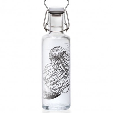 "Soulbottle ""Jellyfish in a bottle"""